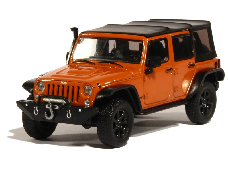 jeep wrangler unlimited custom 2014 greenlight 1 43. Black Bedroom Furniture Sets. Home Design Ideas