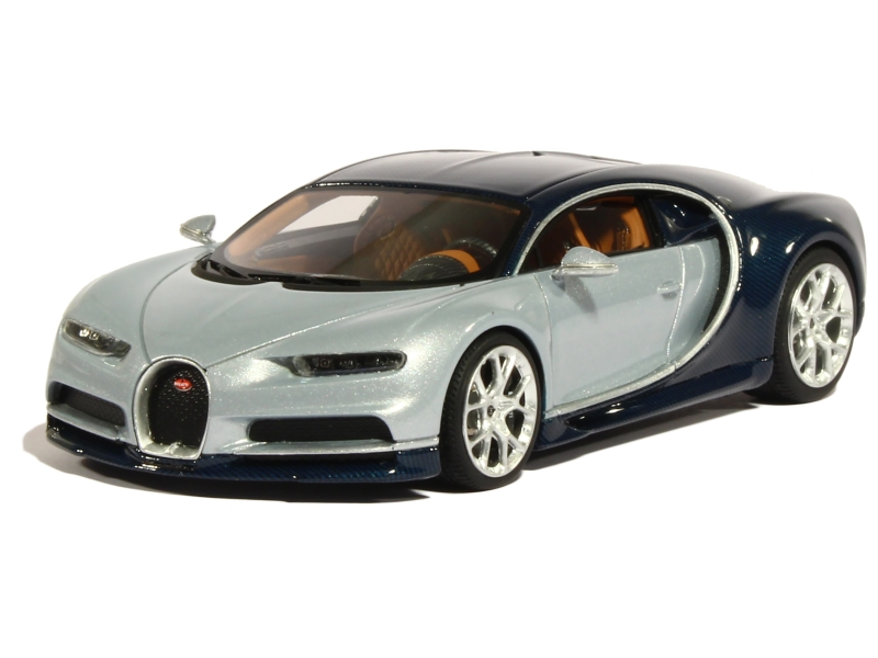 bugatti chiron 2016 looksmart 1 43 autos miniatures tacot. Black Bedroom Furniture Sets. Home Design Ideas
