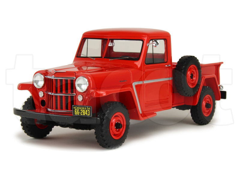 Jeep Willys Pick Up 1954 Bos 1 18 Autos Miniatures
