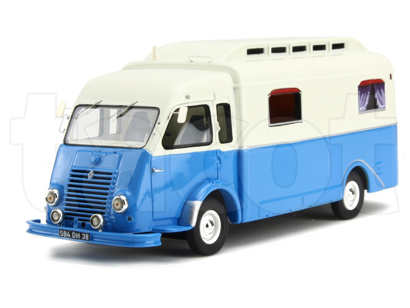 renault go lette camping car notin 1951 perfex 1 43 autos miniatures tacot. Black Bedroom Furniture Sets. Home Design Ideas
