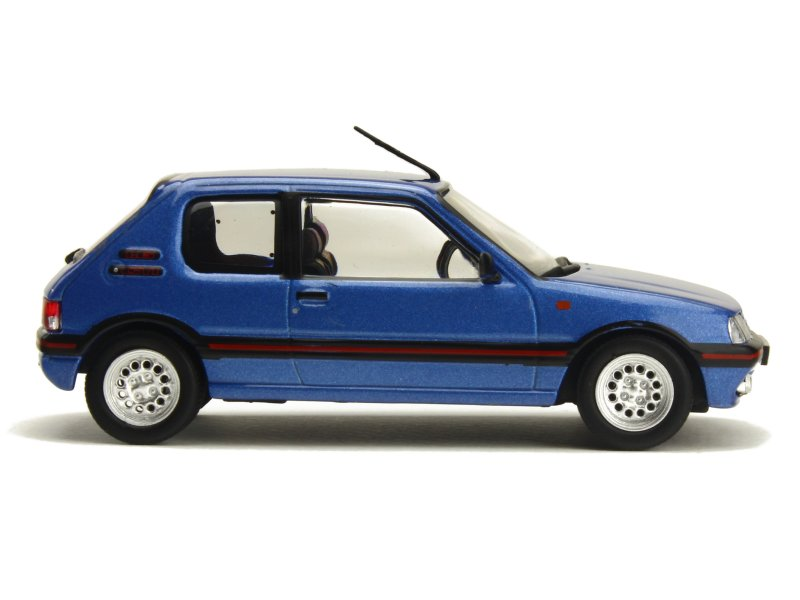 peugeot 205 gti 1 6l 1992 whitebox 1 43 autos miniatures tacot. Black Bedroom Furniture Sets. Home Design Ideas
