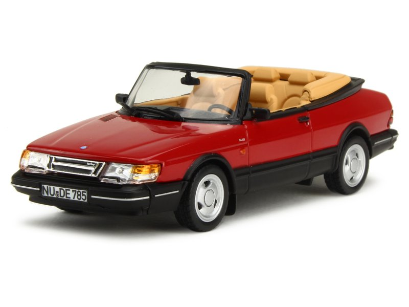 norev saab 900 turbo 16 cabriolet 1992 1 43 ebay. Black Bedroom Furniture Sets. Home Design Ideas
