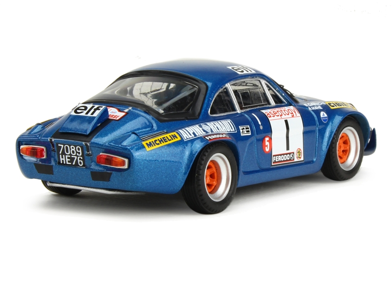 alpine a110 tour de corse 1972 trofeu 1 43 autos miniatures tacot. Black Bedroom Furniture Sets. Home Design Ideas