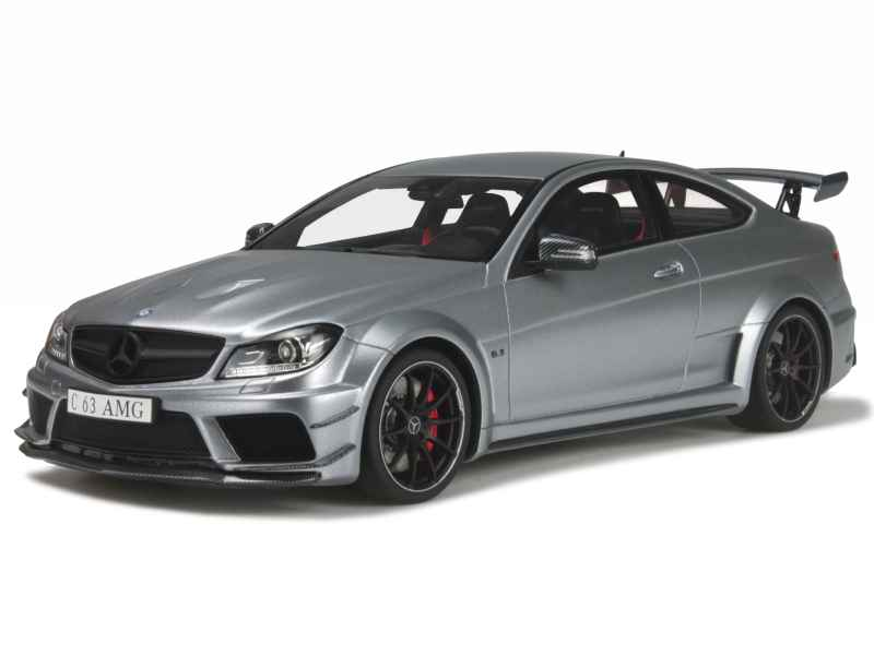 mercedes c63 amg coup black series 2014 gt spirit 1 18 autos miniatures tacot. Black Bedroom Furniture Sets. Home Design Ideas