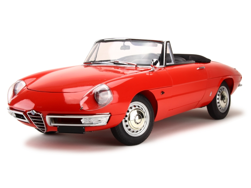 alfa romeo duetto 1600 spider 1966 whitebox 1 8 autos miniatures tacot. Black Bedroom Furniture Sets. Home Design Ideas