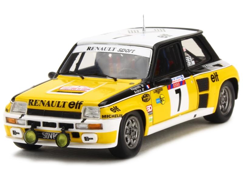 spark model renault r5 turbo tour de corse 1982 1 43 ebay. Black Bedroom Furniture Sets. Home Design Ideas