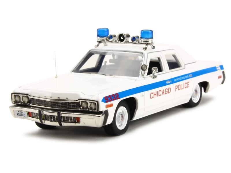 bil värld - Dodge Monaco Police 1974 - 1  43