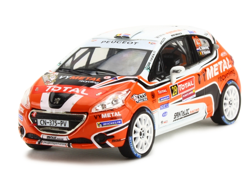 84729 Peugeot 208 R2 Rally du Condroz 2013