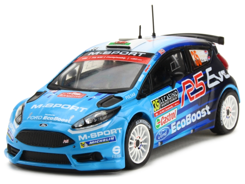 ford fiesta rs wrc monte carlo 2016 ixo 1 43 autos miniatures tacot. Black Bedroom Furniture Sets. Home Design Ideas