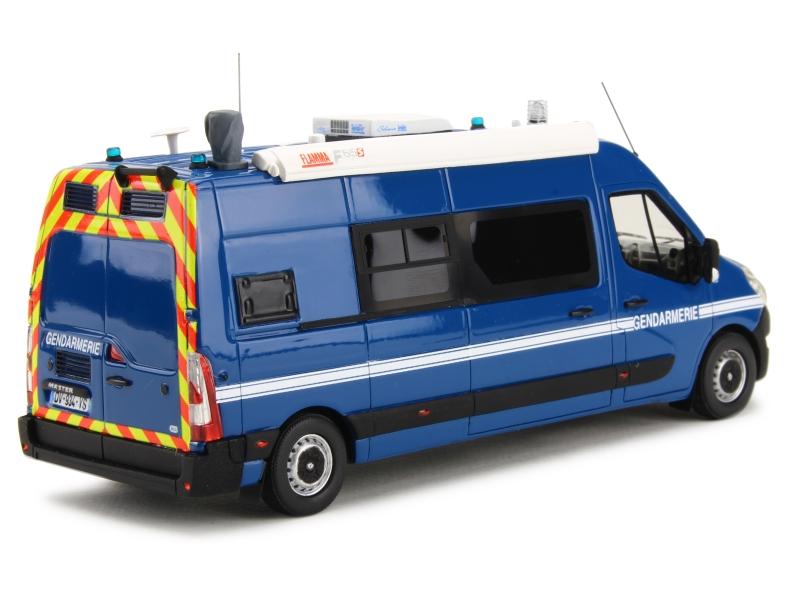 renault master iii l3h2 gendarmerie 2015 perfex 1 43 autos miniatures tacot. Black Bedroom Furniture Sets. Home Design Ideas