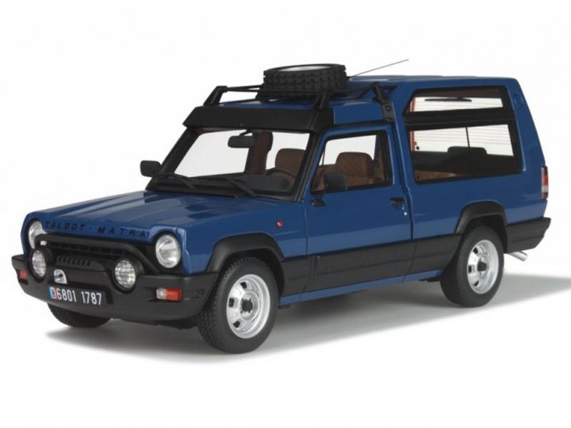 matra rancho gendarmerie grand raid 1980 ottomobile 1 18 autos miniatures tacot. Black Bedroom Furniture Sets. Home Design Ideas