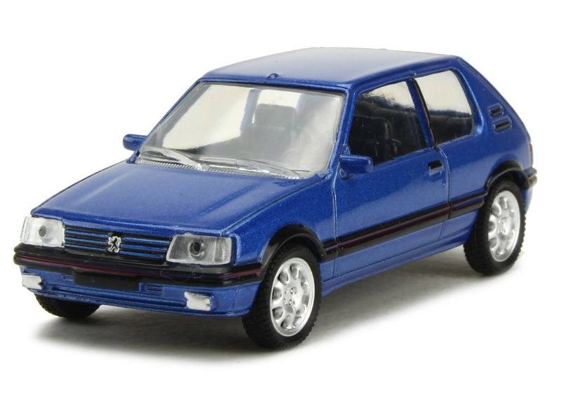 peugeot 205 gti 1 9l 1988 norev 1 54 autos miniatures tacot. Black Bedroom Furniture Sets. Home Design Ideas