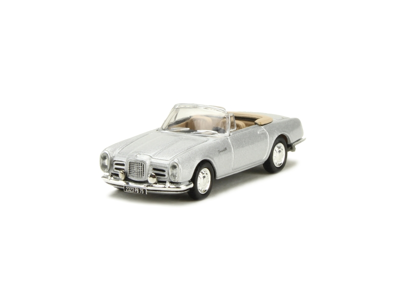 1//87 Norev Facel Vega III Cabriolet 1963 silber 453003