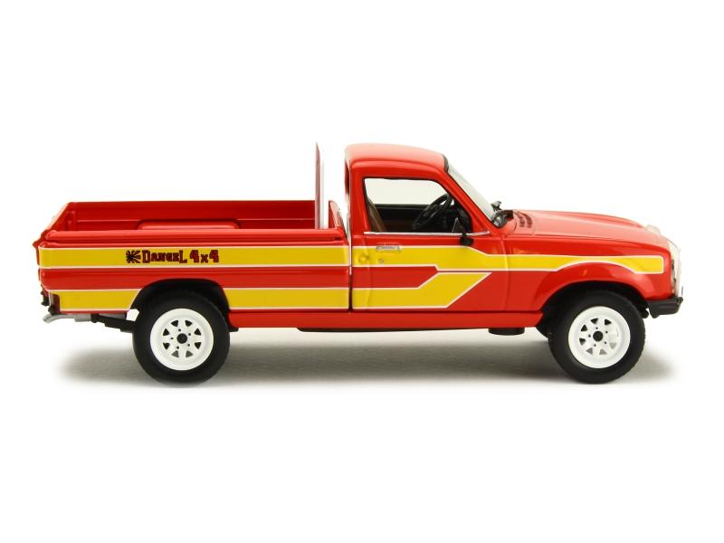 peugeot 504 pick up dangel 1985 norev 1 43 autos miniatures tacot. Black Bedroom Furniture Sets. Home Design Ideas