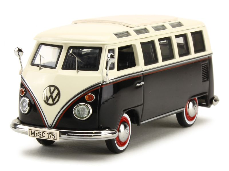 volkswagen combi t1 samba bus 1959 schuco 1 43 autos miniatures tacot. Black Bedroom Furniture Sets. Home Design Ideas