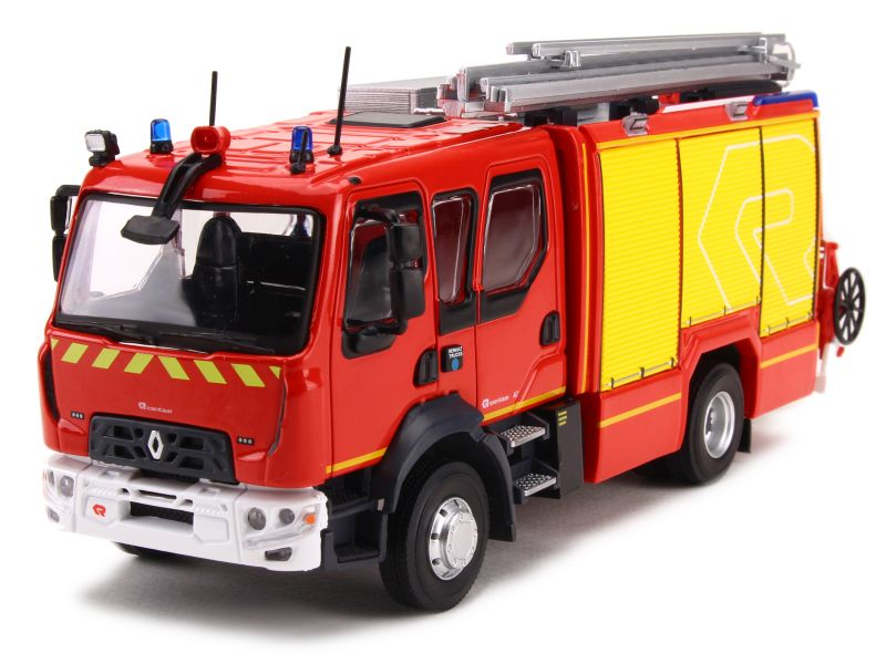 eligor camions renault d15 fpt rosenbauer pompier 1 43 ebay. Black Bedroom Furniture Sets. Home Design Ideas
