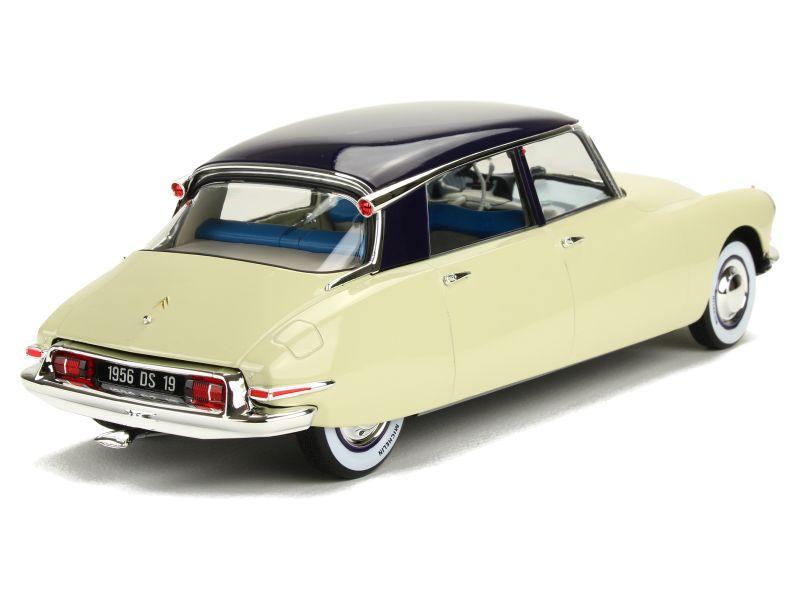citro n ds19 salon de paris 1955 norev 1 18 autos miniatures tacot. Black Bedroom Furniture Sets. Home Design Ideas