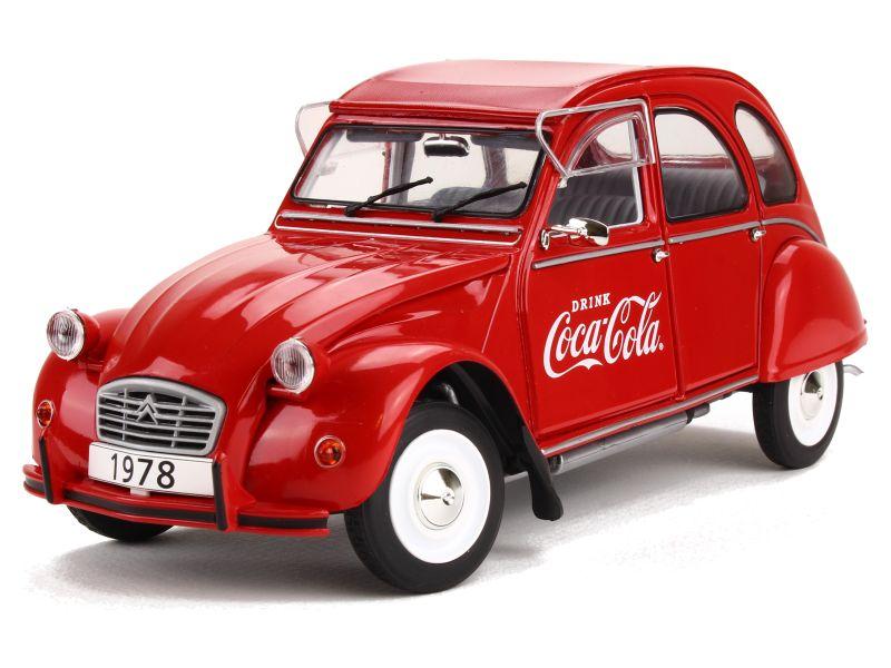 citro u00ebn - 2cv 6 coca cola 1978 - solido - 1  18