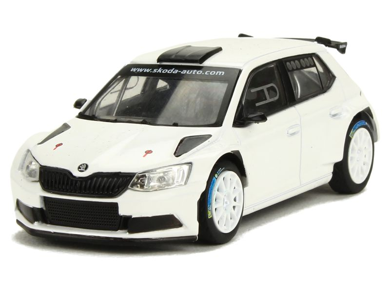 skoda fabia iii r5 2015 abrex 1 43 autos miniatures tacot. Black Bedroom Furniture Sets. Home Design Ideas