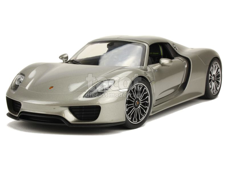 porsche 918 spyder 2015 welly 1 18 autos miniatures tacot. Black Bedroom Furniture Sets. Home Design Ideas