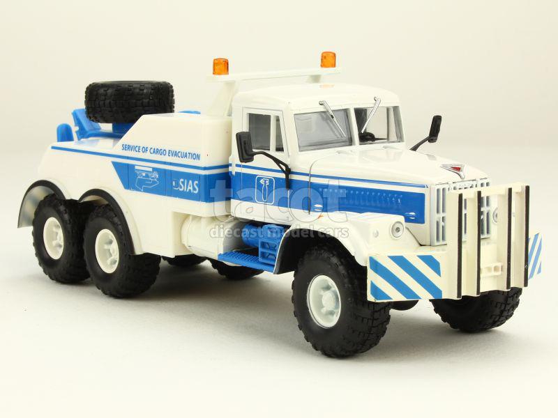 Scale model truck 1//43 KrAZ-255B BRO-200