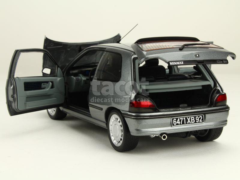 renault clio 16s 1991 norev 1 18 autos miniatures tacot. Black Bedroom Furniture Sets. Home Design Ideas