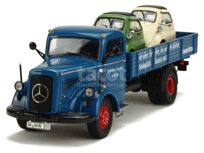 Schuco - Mercedes L 6600 Plateau 1950 - 1/43