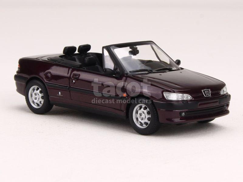 peugeot 306 cabriolet 1998 maxichamps 1 43 autos miniatures tacot. Black Bedroom Furniture Sets. Home Design Ideas