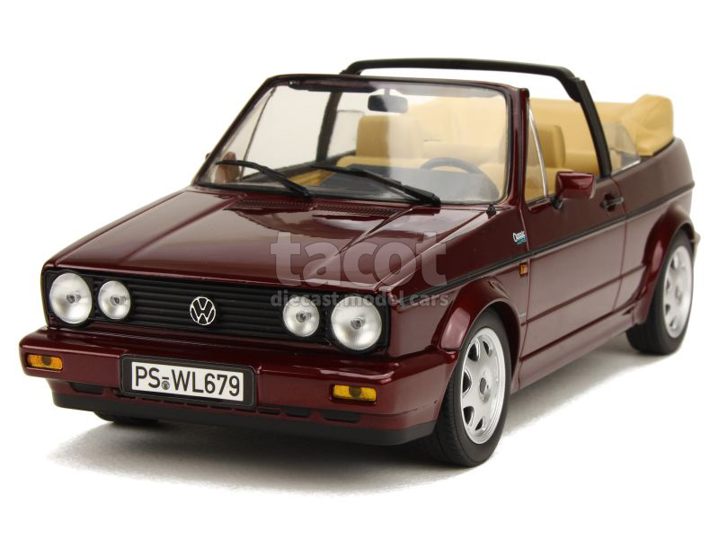 86378 Volkswagen Golf I Cabriolet Classic Line 1992