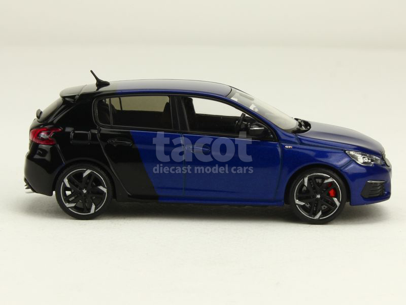 peugeot new 308 gti coupe franche 2017 norev 1 43 autos miniatures tacot. Black Bedroom Furniture Sets. Home Design Ideas