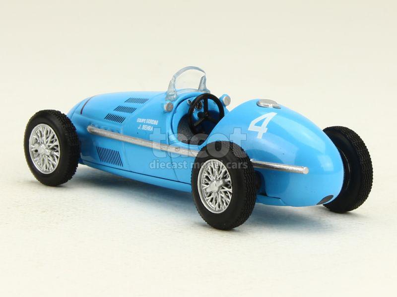 gordini formule 2 type 16 gp reims 1952 mod le presse at 1 43 autos miniatures tacot. Black Bedroom Furniture Sets. Home Design Ideas