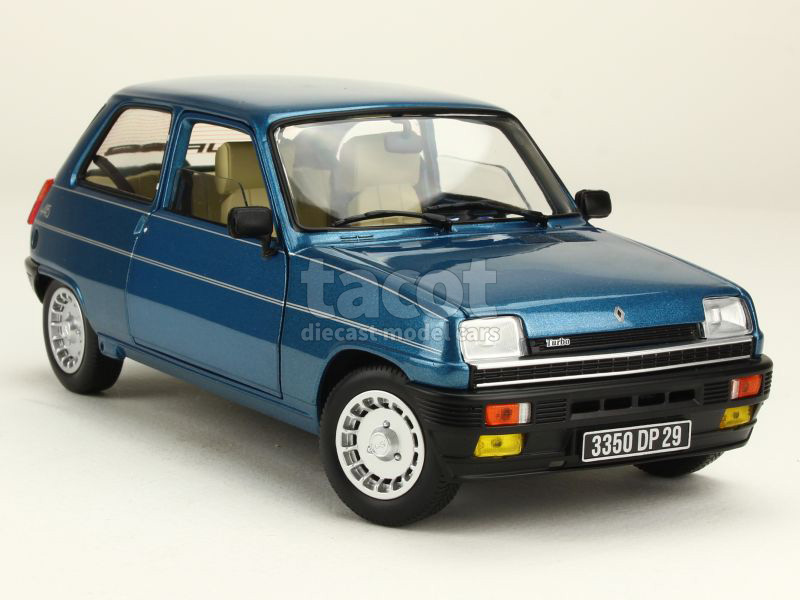 renault r5 alpine turbo 1981 norev 1 18 autos miniatures tacot. Black Bedroom Furniture Sets. Home Design Ideas
