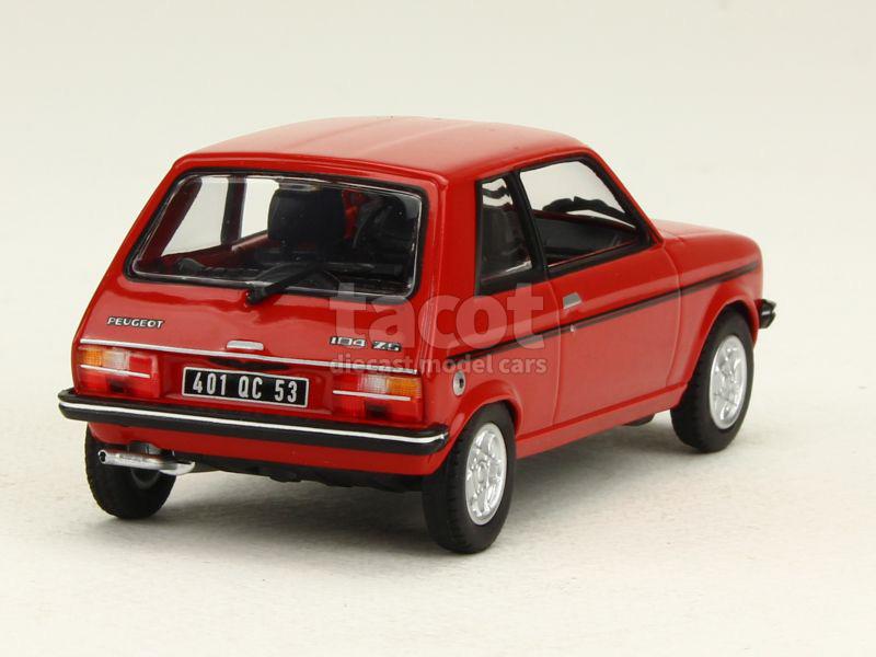 peugeot 104 zs 1979 norev 1 43 autos miniatures tacot. Black Bedroom Furniture Sets. Home Design Ideas