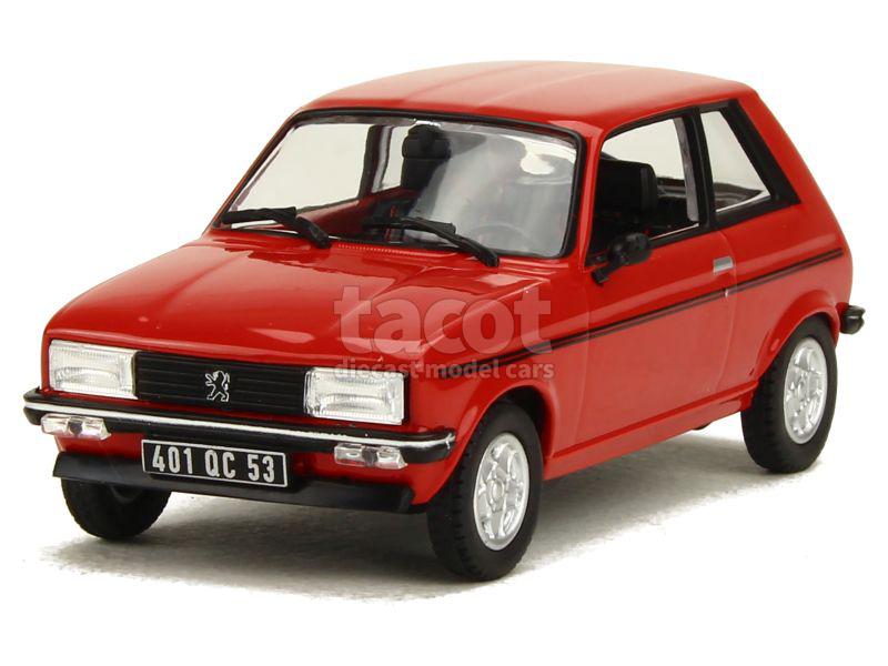 voiture miniature peugeot 1 43 1 18 autos miniatures tacot. Black Bedroom Furniture Sets. Home Design Ideas