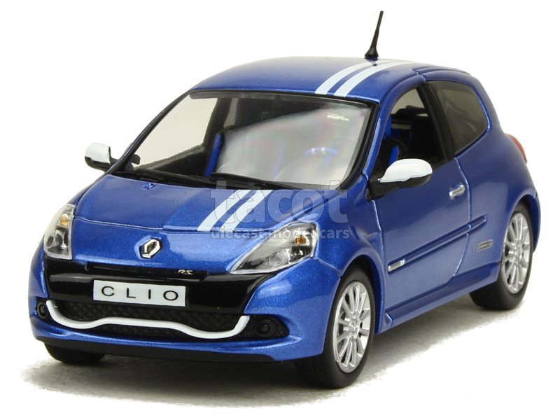 renault clio iii rs gordini 2009 norev 1 43 autos miniatures tacot. Black Bedroom Furniture Sets. Home Design Ideas