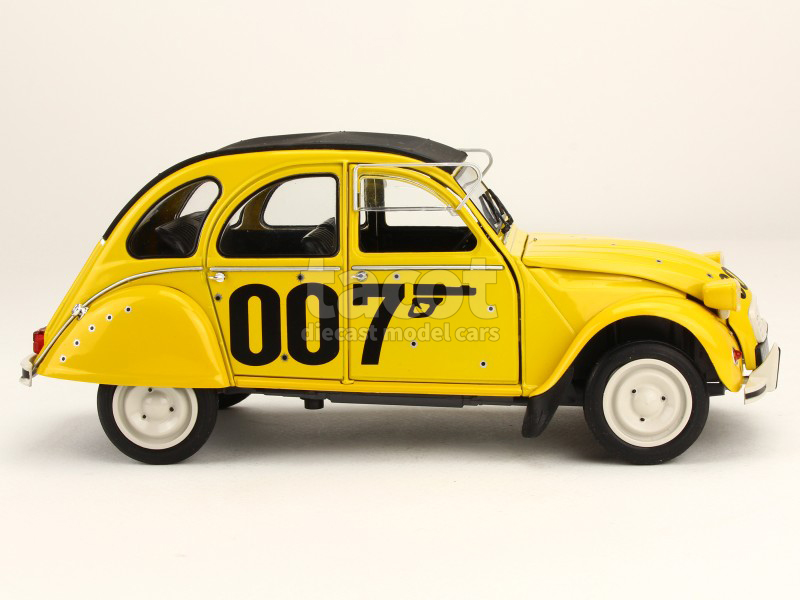 citro n 2cv james bond 007 1981 solido 1 18 autos miniatures tacot. Black Bedroom Furniture Sets. Home Design Ideas