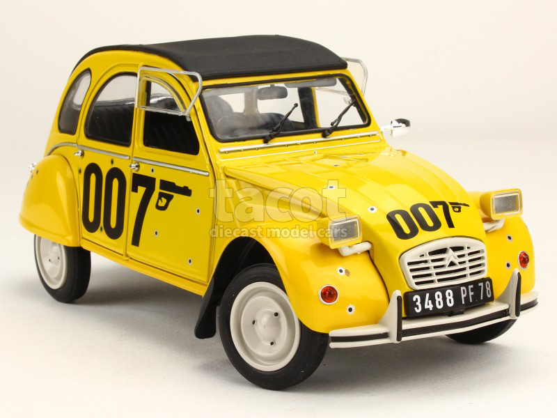 citro n 2cv james bond 007 1981 solido 1 18 autos miniatures tacot. Black Bedroom Furniture Sets. Home Design Ideas