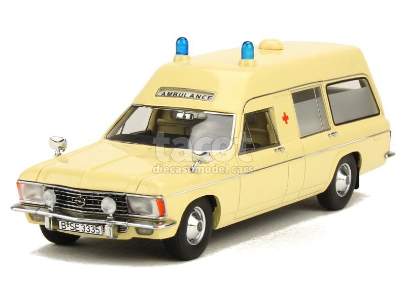 Matrix - Opel Admiral B Miesen LWB Ambulance 1974 - 1/43