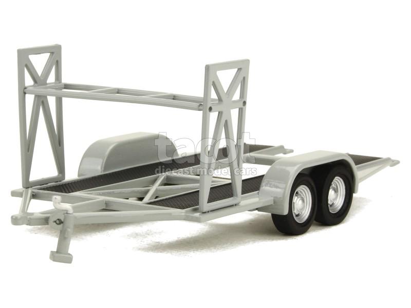 Gmp remorque porte auto double essieux 1 43 ebay - Remorque porte voiture double essieux ...