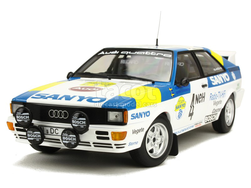 86773 Audi Quattro Swedish Rally 1982