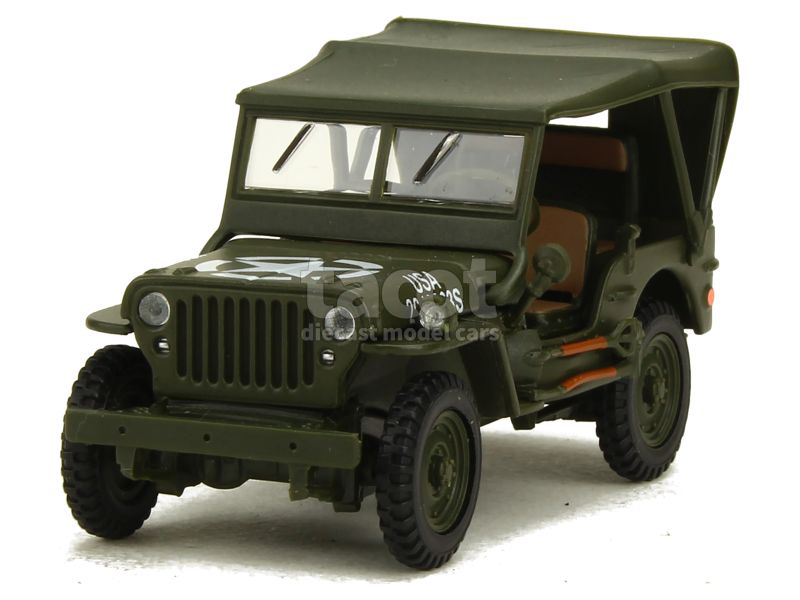 willys jeep militaire cararama 1 43 autos. Black Bedroom Furniture Sets. Home Design Ideas
