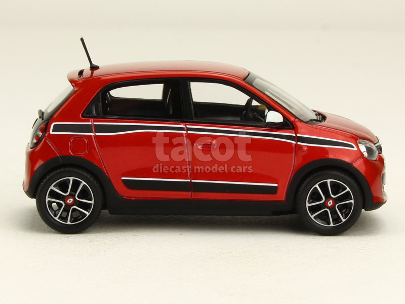 renault twingo iii sport pack 2014 norev 1 43 autos miniatures tacot. Black Bedroom Furniture Sets. Home Design Ideas