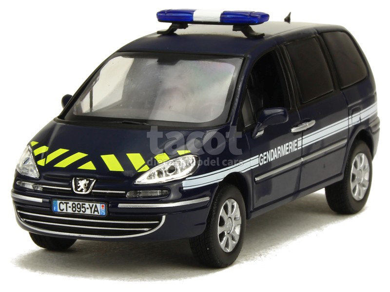 norev peugeot 807 gendarmerie 2013 1 43 ebay. Black Bedroom Furniture Sets. Home Design Ideas