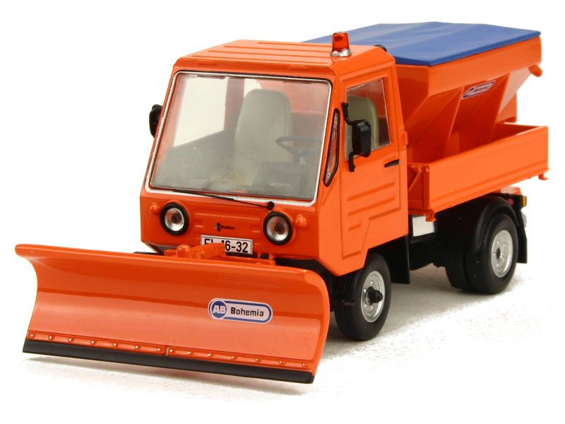 86918 Divers Multicar M25 Chasse Neige 1980