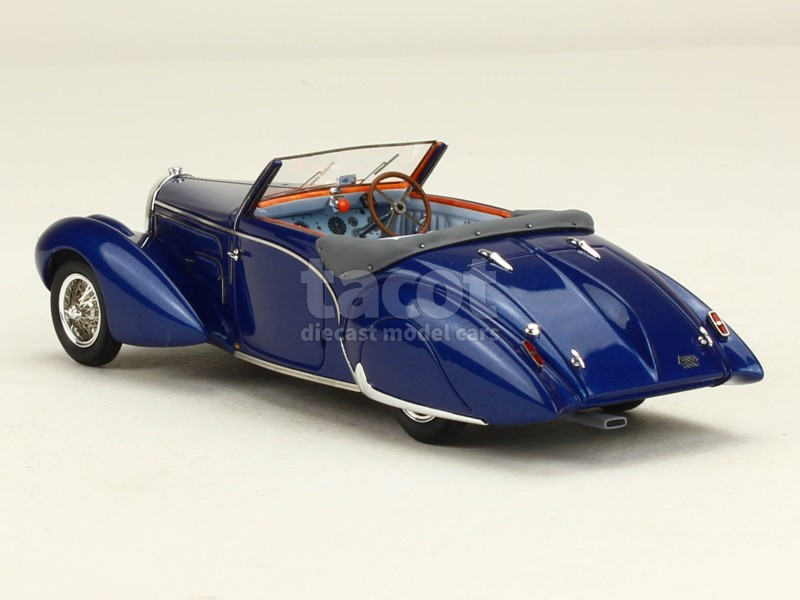 bugatti type 57c aravis gangloff 1938 ilario 1 43 autos miniatures tacot. Black Bedroom Furniture Sets. Home Design Ideas