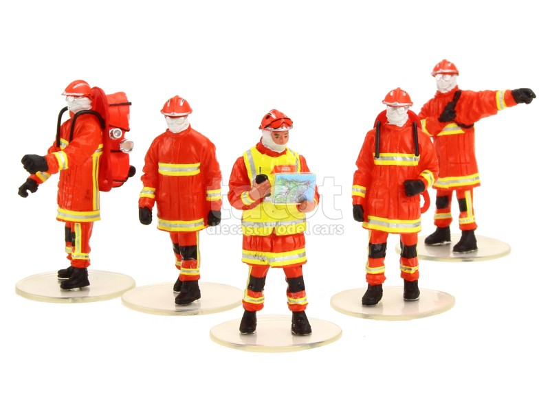 86995 Divers Figurines Pompiers BMPM
