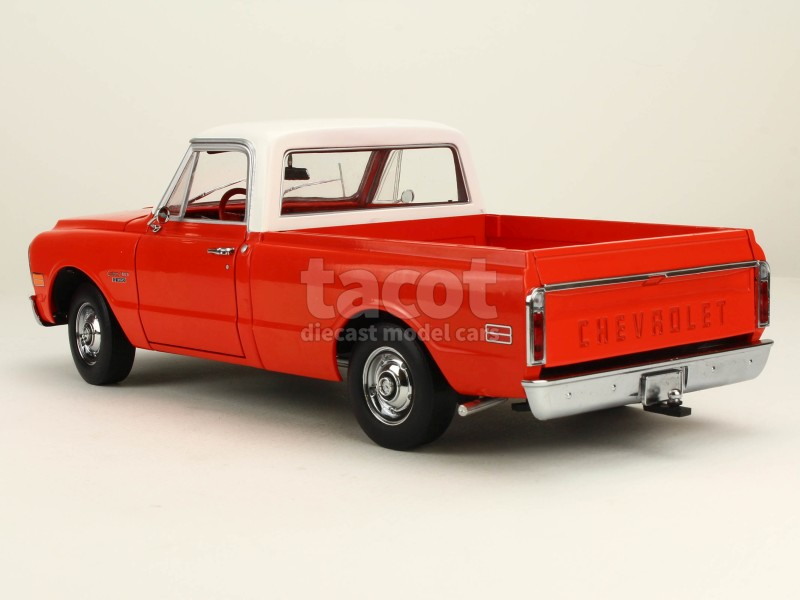 chevrolet c10 pick up camper 1970 highway 61 1 18 autos miniatures tacot. Black Bedroom Furniture Sets. Home Design Ideas