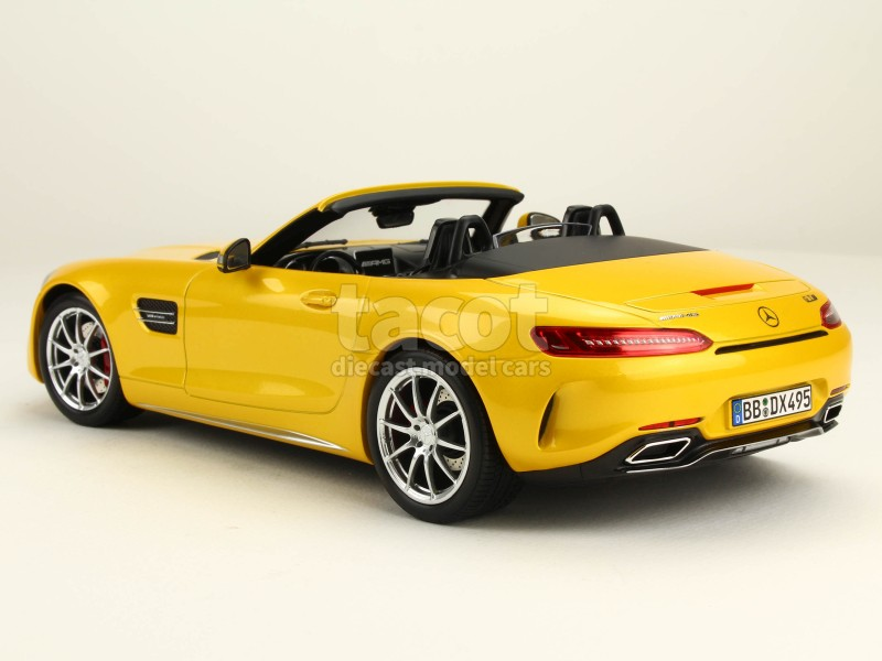 mercedes amg gtc roadster 2017 norev 1 18 autos miniatures tacot. Black Bedroom Furniture Sets. Home Design Ideas