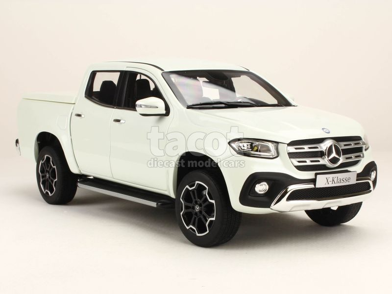 mercedes x class 470 pick up 2017 norev 1 18 autos miniatures tacot. Black Bedroom Furniture Sets. Home Design Ideas