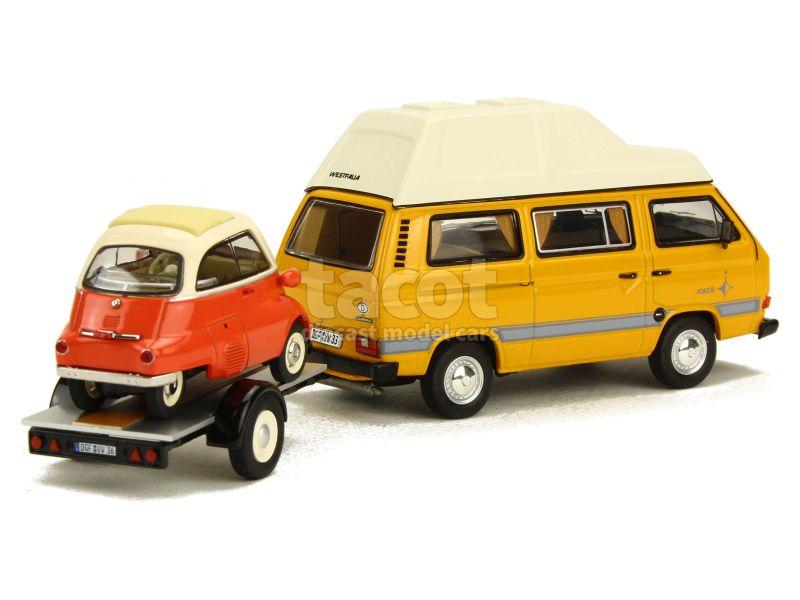 Volkswagen - Combi T3 Westfalia Joker - Schuco - 1/43 - Autos Miniatures Tacot